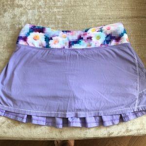 Ivivva girls tennis skirt